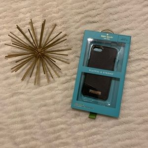 Kate Spade Black and Gold iPhone 6 Case